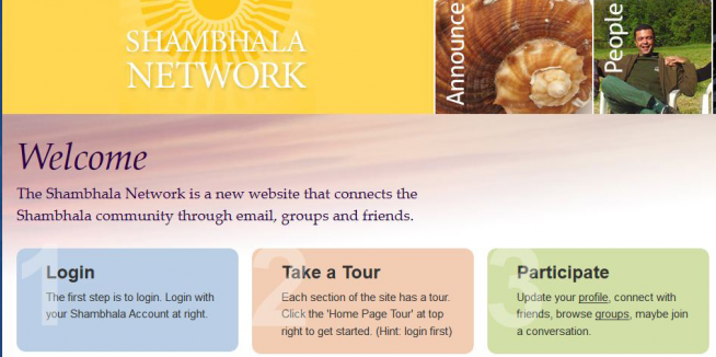 The Shambhala Network Online